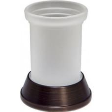 Стакан для зубных щеток матовое стекло, темная бронза К-2328  WasserKRAFT
