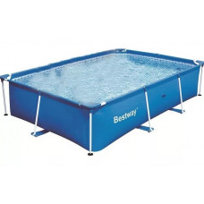 Бассейн каркас прямоугольный 300*201*66 см Steel Pro Bestway (56404)