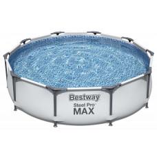 Бассейн каркасный круглый 305*76 см.Steel Pro MAX ,56406 Bestway