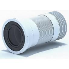 Удлинитель гибкий для унитаза, с металлической спиралью d110мм