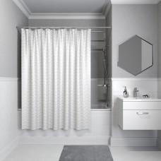 Шторка для ванны, 200*180см,полиэстер, IDDIS