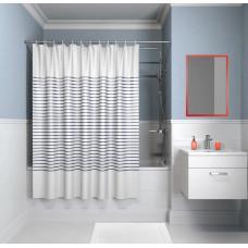 Шторка для ванны, 200*240см, полиэстер, IDDIS
