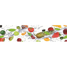 УЦЕНКА Кухонный фартук Брызги вкуса2 2440*600*3мм 1317053