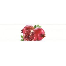 УЦЕНКА Кухонный фартук Гранат на белом 2440*600*3мм 1317025