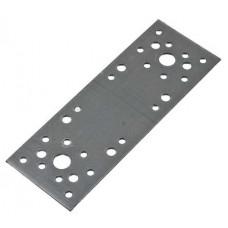 Пластина крепежная 140*55*2,0 мм с анкерным отверстием, оцинкованная