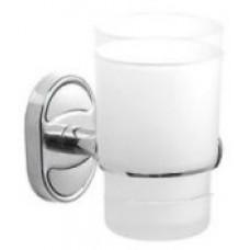 Стеклянный стакан к стене (матовый) POTATO