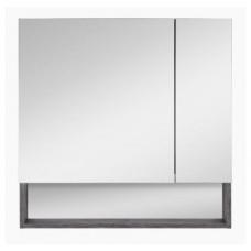 Шкаф-зеркало Темза-75 с полочкой