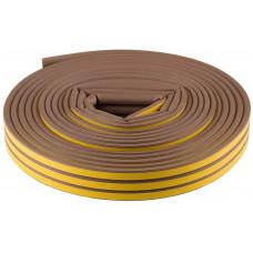 Уплотнитель тип Р 100м коричневый 9*5,5