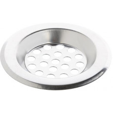 Фильтр-сетка для раковины 6см., нерж.сталь